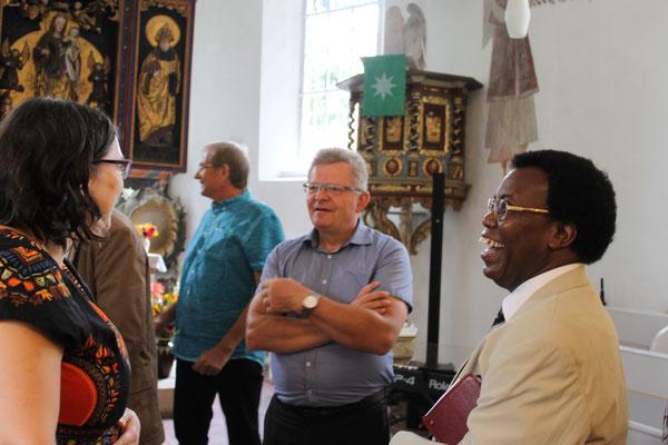 Entsendungsgottesdienst 05.08. 2018 / Foto: U.Lißke