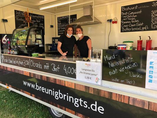 Foodtruck von Breunig bringt's
