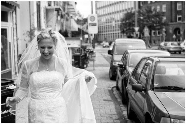 Braut, Brautkleid, Hochzeitsreportage, Bremen