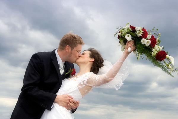 Paarshooting, Brautpaar, Brautstrauss, Hochzeitsfotografin, Gaby Ahnert