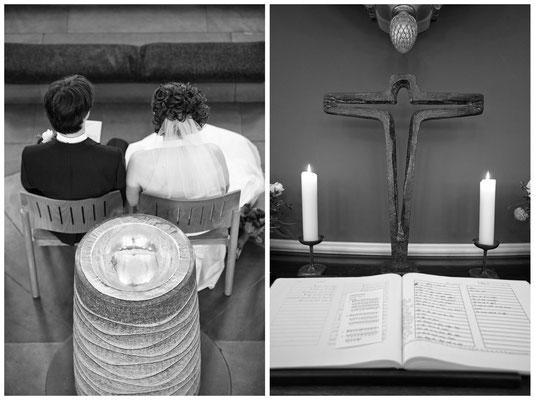 Trauung, Kirche, Altar, Bremen,Hochzeitsfotos