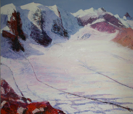 """Pers rot"" | Oel auf Leinwand | 120 x 140 cm"