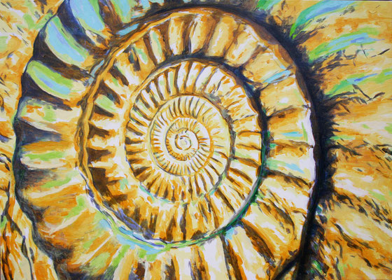 """Ammonite yellow"" 