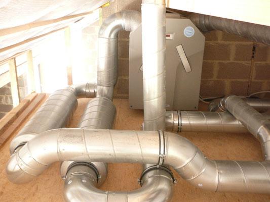 Ventilation double flux habitation