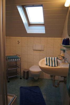 Badezimmer zwei der Ferienwohnung 2