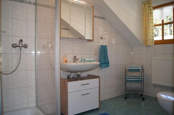 Badezimmer eins der Ferienwohnung 2