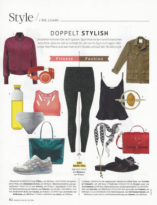GOLPIRA//WOMEN´ S HEALTH// September 2016