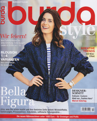 BURDA STYLE October 2015