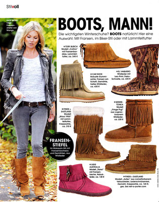 Minnetonka Moccasin//InStyle January 2015