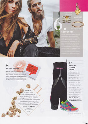 GOLPIRA//Women´s Health July 2015