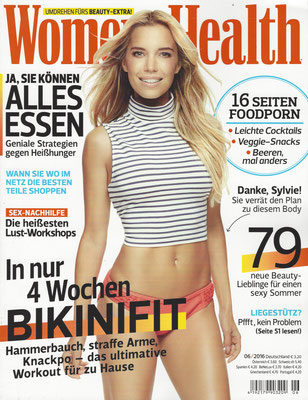 WOMEN´S HEALTH//June 2017