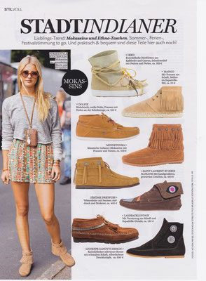Minnetonka Moccasin//InStyle July 2015