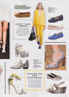 Minnetonka Moccasin//GRAZIA 12.March 2015