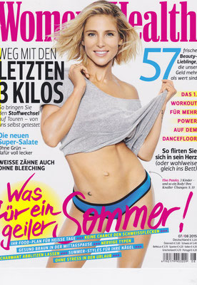 Women´s Health July 2015