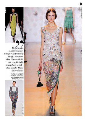 TSUMORI CHISATO//FLAIR January/February 2015