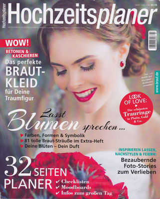 Hochzeitsplaner//March, April, May 2016