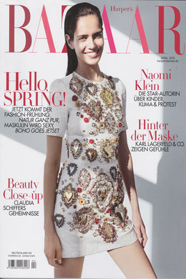 Harper´s Bazaar April 2015