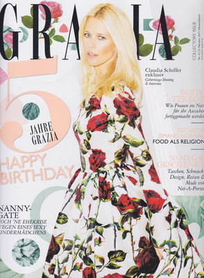 GRAZIA- Birthday Issue October 10, 2015