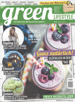 GREEN LIFESTYLE//April-June 2016