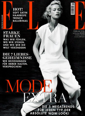 ELLE Germany//February 2016