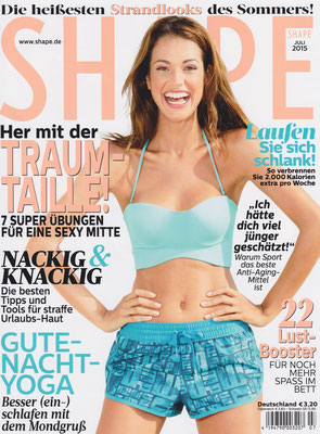 SHAPE July 2015