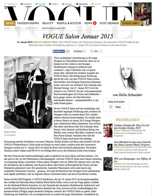 GOLPIRA//VOGUE Online January 2015