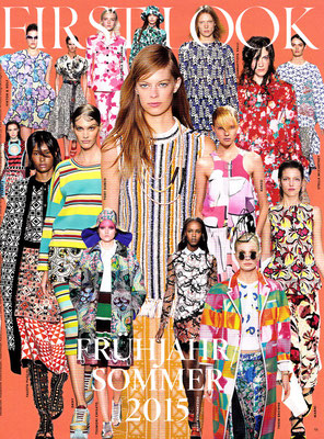 TSUMORI CHISATO//VOGUE January 2015