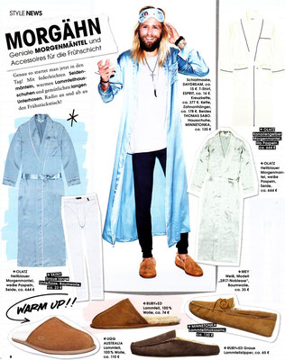 Minnetonka Moccasin//InStyle Men Spring 2015