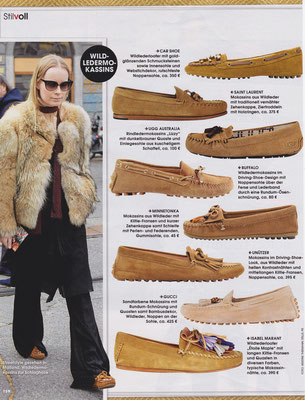 Minnetonka Moccasin//InStyle April 2015