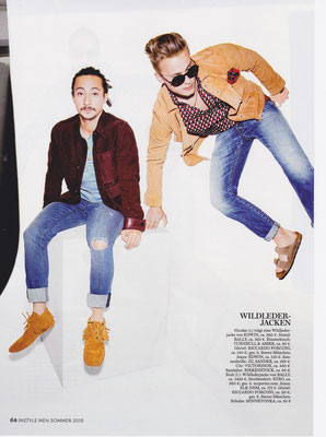 Minnetonka Moccasin//InStyle Men Summer 2015