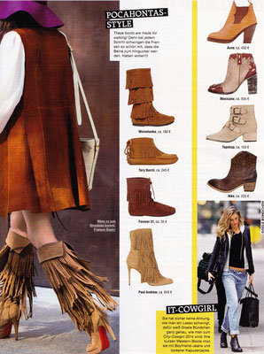 Minnetonka Moccasin//GRAZIA 6.November 2014