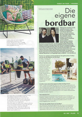 BORDBAR//Porsche Life Club Magazin June 2017