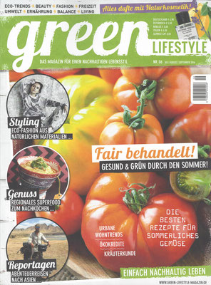 green Lifestyle//July-September 2016