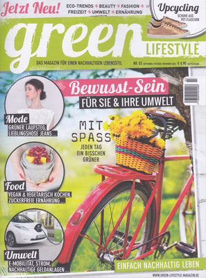 green LIFESTYLE magazine No.3, September-November 2015