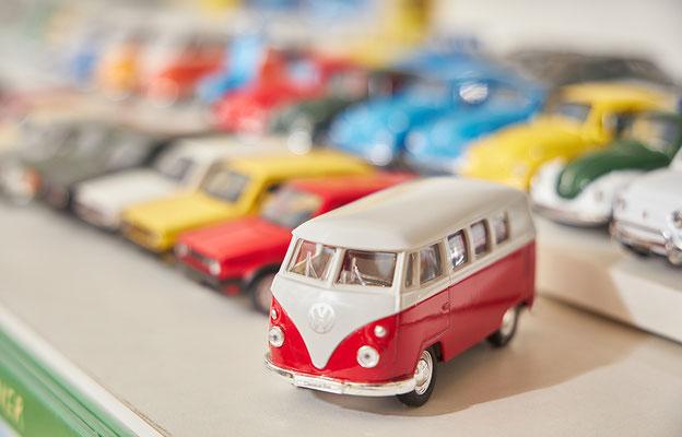 Nostalgisches Blechspielzeug, VW Bulli