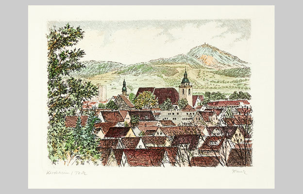 20 x 14 cm, Kirchheim unter Teck
