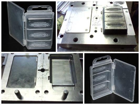 Коробка из полипропилена. Изготовление пресс-формы 2,5 месяца. Материал изделия полипропилен.