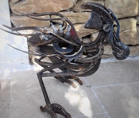 Oiseau indisponible h 35 cm