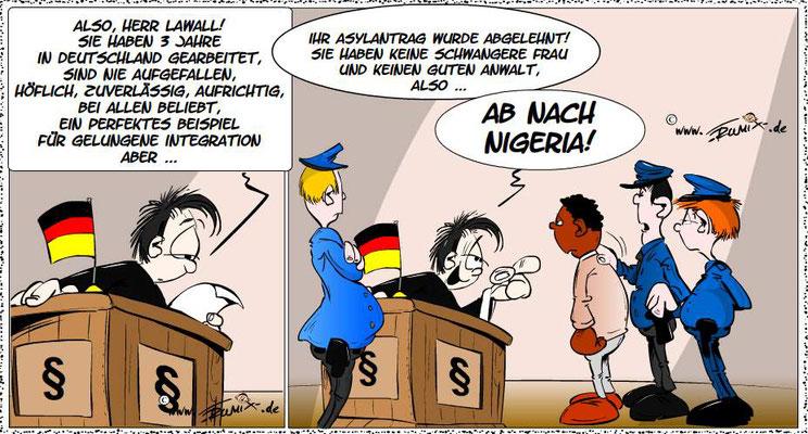 Konstanz: Aufregung, Trauer und Wut im Konstanzer Konzil: langjähriger zuverlässiger Mitarbeiter nach Nigeria abgeschoben.