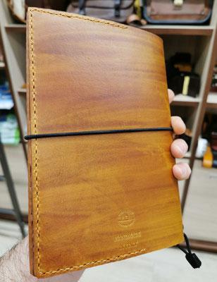 quaderno custodia agenda in cuoio