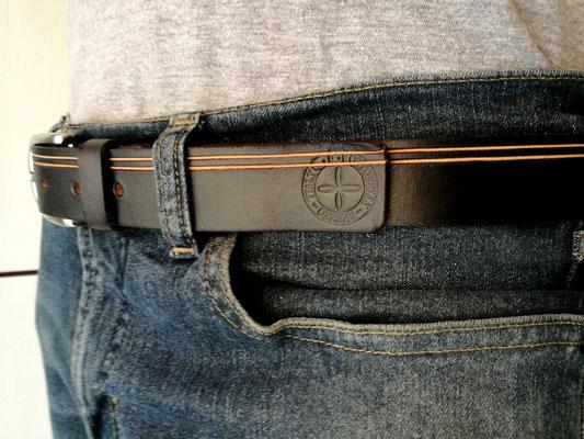 cintura in cuoio