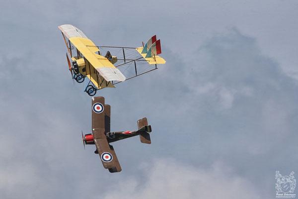 Royal Aircraft Factory SE-5A Replica & Caudron G-III