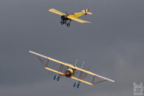 Caudron G-III  & Morane-Saulnier G
