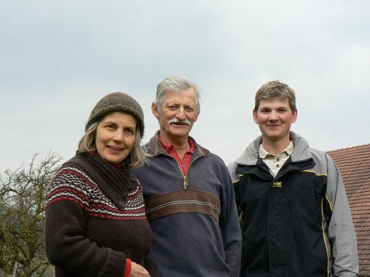 Familie Weidmann, Biohof Rüebisberg