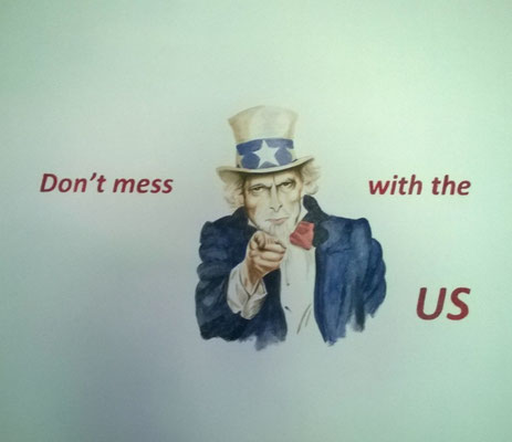 Uncle Sam op tienerkamer
