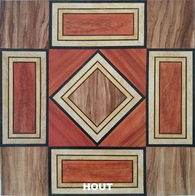 Houtimitatie - bv Paneel met diverse houtsoorten