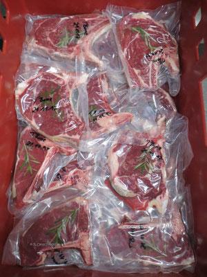 T Bone Steak frisch eingeschweißt