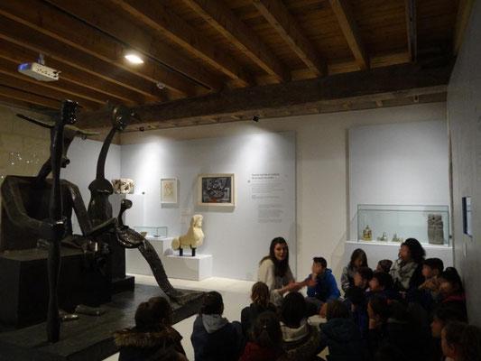 Exposition Constellation Capricorne - écomusée du véron 2019