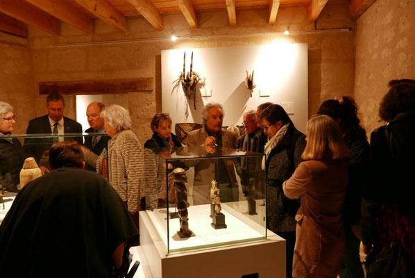 Inauguration - Exposition Constellation Capricorne - écomusée du véron 2019