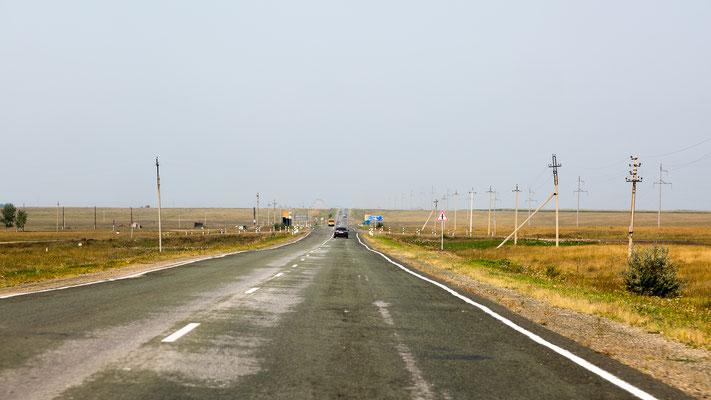 schnurgerade Straßen